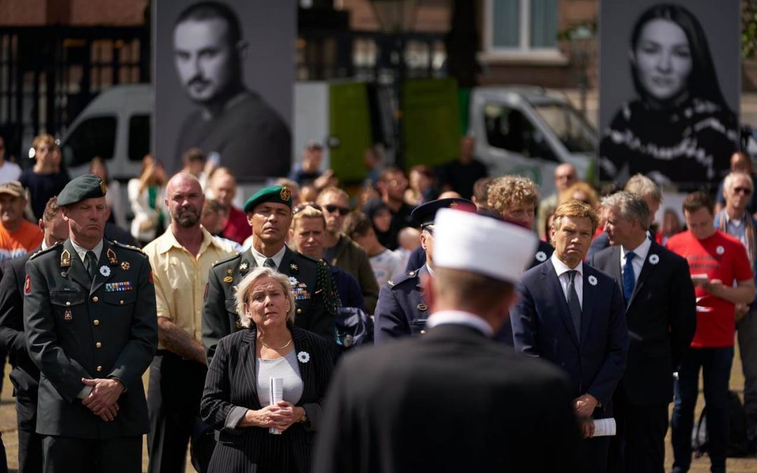 Herdenking 25 jaar Srebrenica