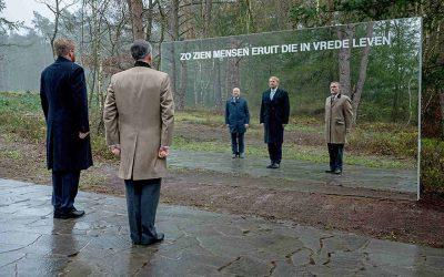 Koning opent Nationale Veteranenbegraafplaats Loenen